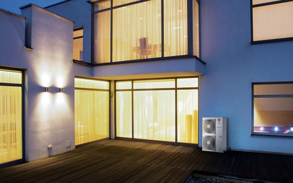 Energooszczędne ogrzewanie z pompami ciepła LG Therma V